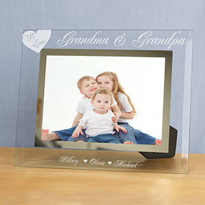 Engraved We Love Picture Frame G9103402S