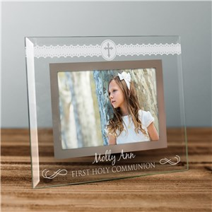 Glass Communion Frames | Engraved Frames For First Communion