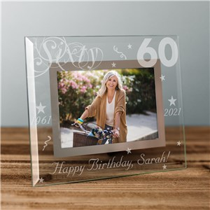 Engraved Birthday Picture Frame | Personalized Picture Frames