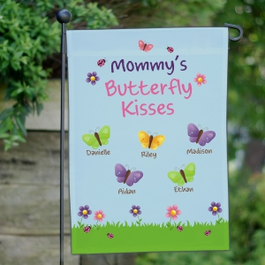 Butterfly Personalized Garden Flag