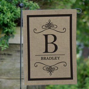 Family Garden Flag | Personalized Housewarming Gifts