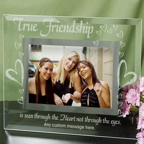 True Friends Personalized Glass Picture Frame G929161