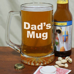 Personalized Message Glass Mug