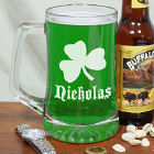 Shamrock Sports Personalized Glass Mug