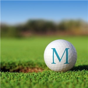 Personalized First Initial Golf Ball Set Golfballs | Personalized Golf Balls