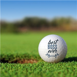 Personalized Best Ever Golf Ball Set Golfballs-12886-S6