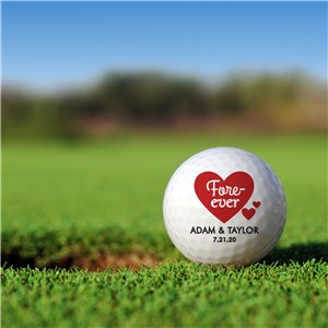 Custom Golf Balls | Personalized Golf Gifts