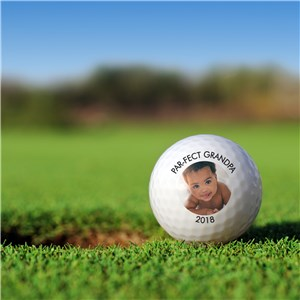 Personalized Photo Golf Ball Set Golfballs | Photo Personalized Golf Balls