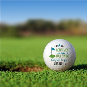 Personalized Golf Balls | Personalized Retirement Gifts