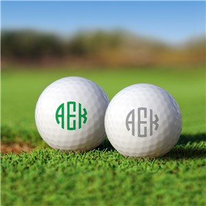 Personalized Golf Balls With Initials | Monogrammed Golf Balls