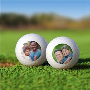Personalized Photo Golf Balls Set Golfballs-14536-S6