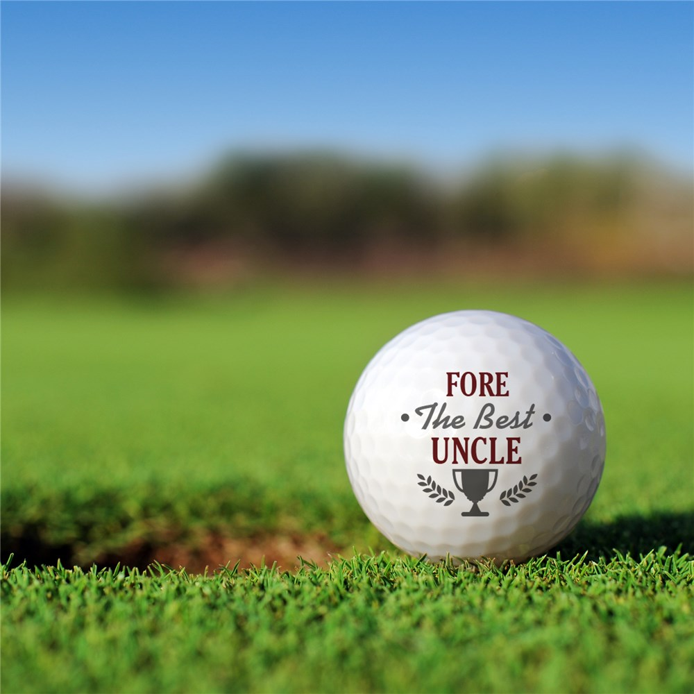 Custom Golf Balls | Fore The Best Customized Golf Balls