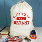 Dirty Duds Laundry Department Personalized Laundry Bag