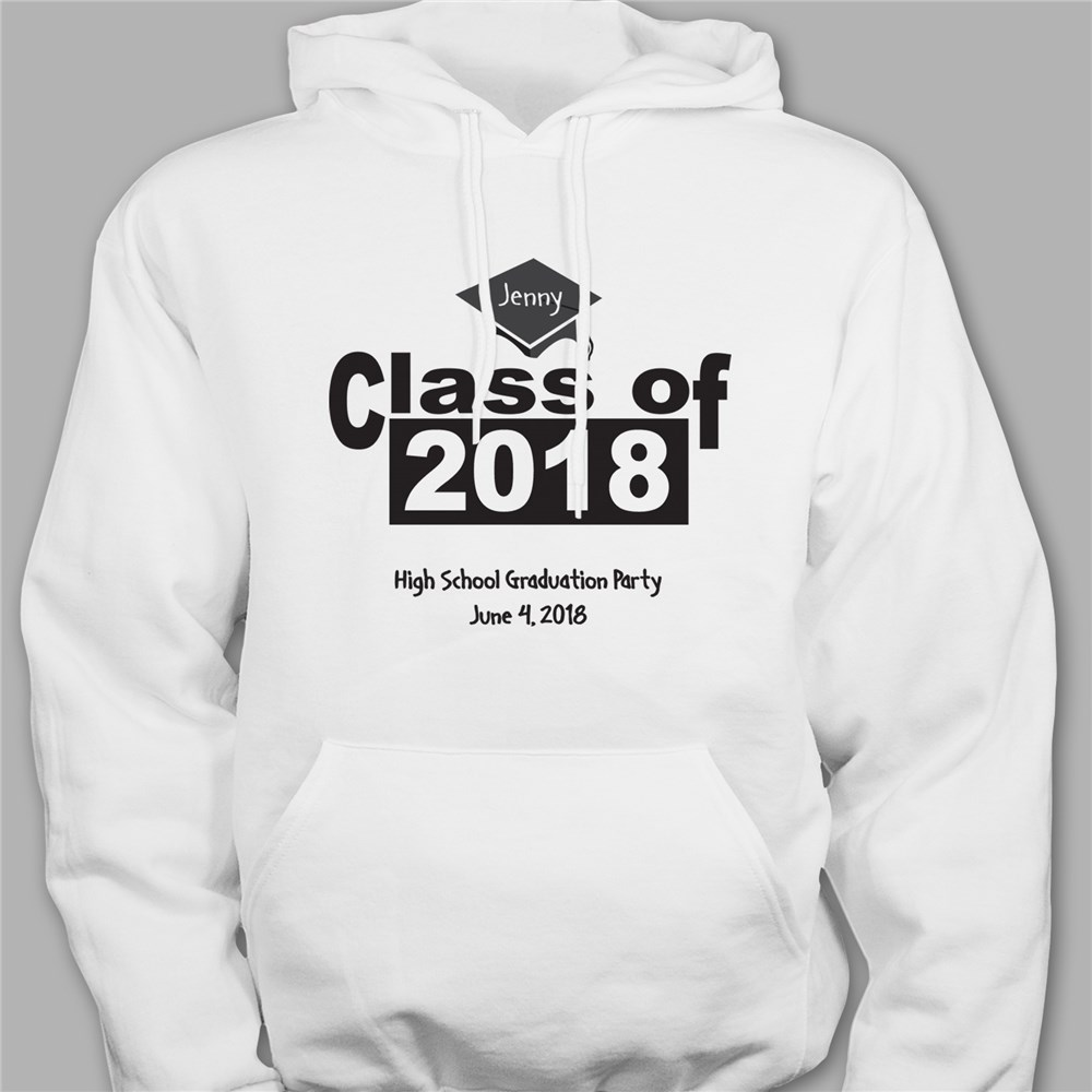 Personalized When I Grow Up Graduation Hooded Sweatshirt H51218X