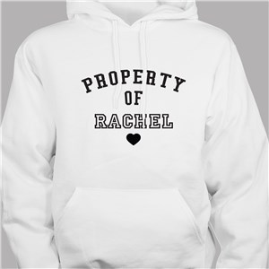Property of Hoodie | Personalized Hoodies