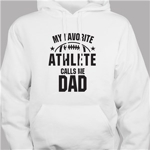 Father's Day Hoodie | Sports Dad Personalized Sweatshirt