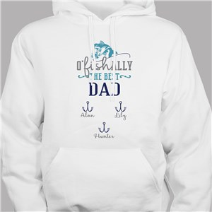 Personalized Sweatshirt For Fisherman | Fishing Dad Hoodie