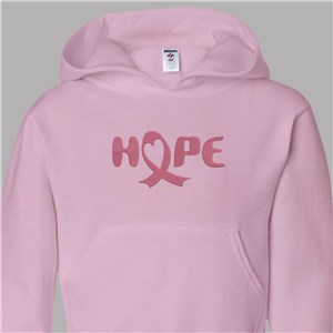 Embroidered Breast Cancer Hoodie | Breast Cancer Walk Shirt