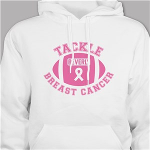 Personalized Breast Cancer Awareness Hooded Sweatshirt H57875X