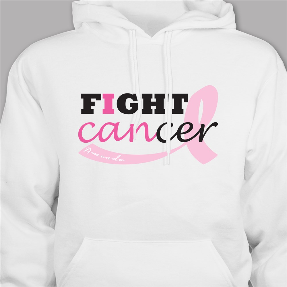 Fight Cancer Personalized Hooded Sweatshirt H57938X