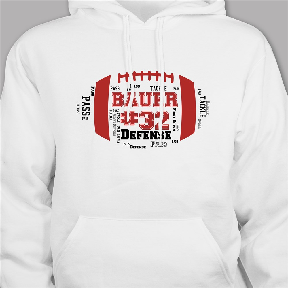 Personalized Football Team Hoodie | Fantasy Football Hoodie