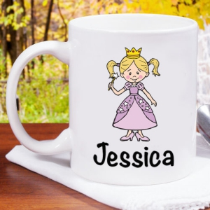 Personalized Halloween Character Mug