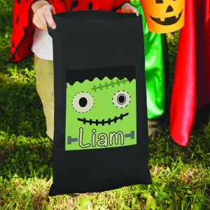 Personalized Monster Trick or Treat Sack