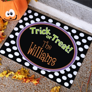 Personalized Pumpkin Welcome Doormat 83130017