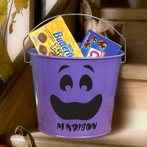 Custom Printed Halloween Candy Bucket