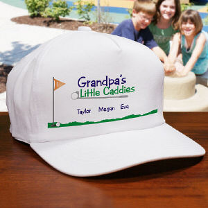 Little Caddies Personalized Hat