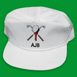 Hole In One Personalized Hat