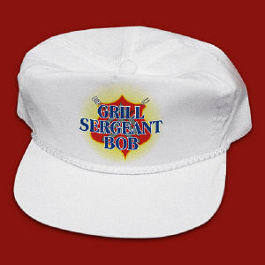 Grill Sergeant BBQ Personalized Hat