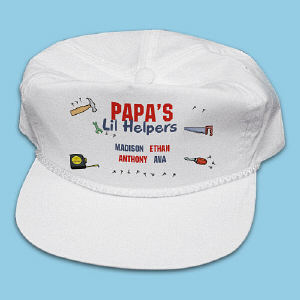 Lil' Helpers Personalized Hat