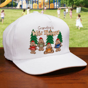 Wild Things Personalized Hat