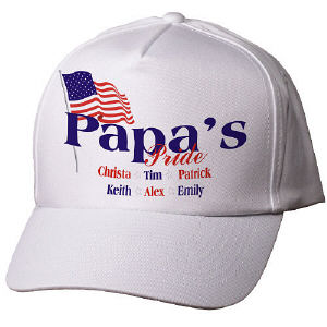 USA Pride Personalized Hat
