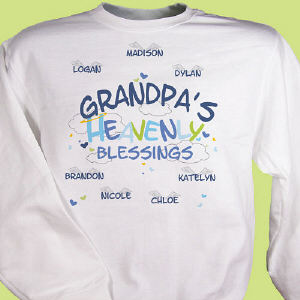 Heavenly Blessings Grandpa Sweatshirt