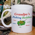 Fishing Buddies Personalized Coffee Mug
