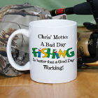 Bad Day Fish Coffee Mug