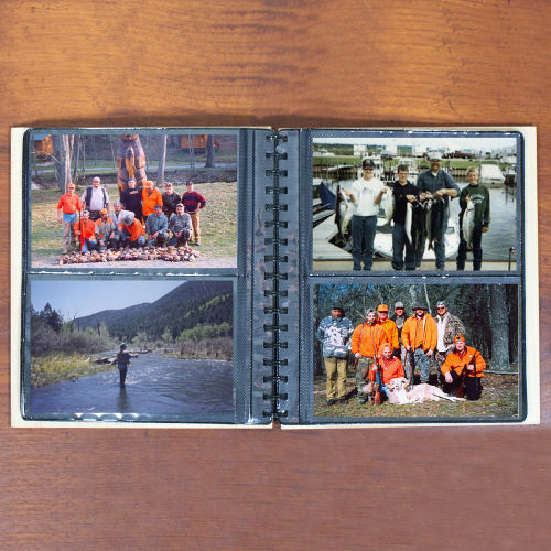 Hunting Memories Photo Album | Personalized Hunting Gifts