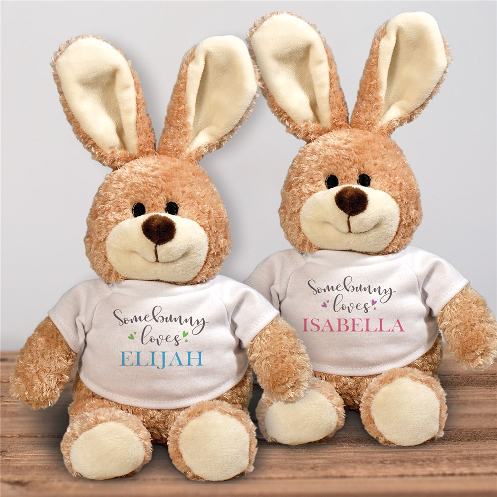 Personalized Easter Bunny for Kids | Stuffed Easter Bunnies