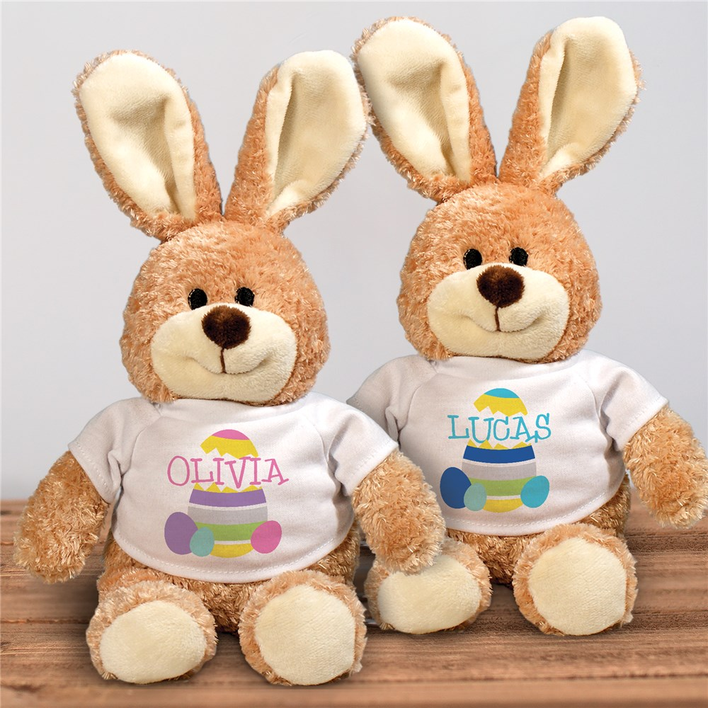 Personalized Easter Bunny for Kids | Stuffed Easter Bunny