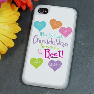 Personalized God Gave Me the Best iPhone 4S Case