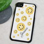 Personalized Smiley Face Apple iPhone 4 Case