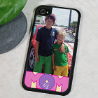 Personalized Mom of Photo iPhone 4S Case