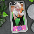 Personalized Mom of Photo iPhone 5 Case