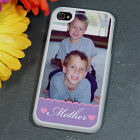 Personalized Mother Photo iPhone 4S Case