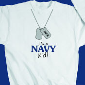 I'm a Navy kid Youth Sweatshirt
