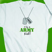 I'm an Army kid Youth Sweatshirt