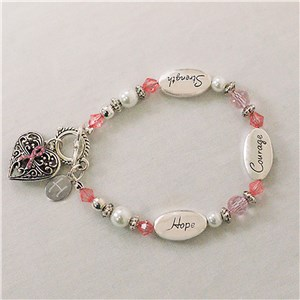 Breast Cancer Awareness Bracelet J316533