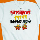 Kicks Ash Firefighter Sweatshirt
